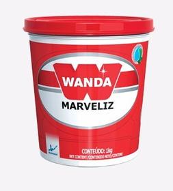 Massa De Polir N2 1/4 900ml Marveliz Wanda