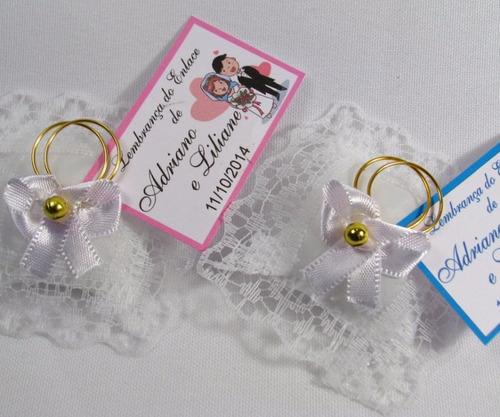 Almofadinha Lembrancinha Casamento Cor Branco Kit 100 Und