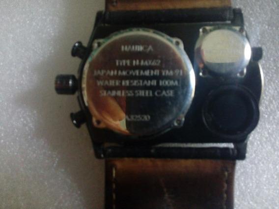 Reloj Náutica Con Brújula.