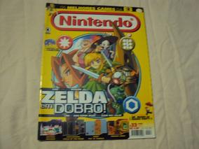 Revista Nintendo World Maio 2001 Número 33 Capa Zelda