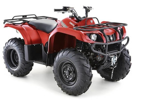 Cuatriciclo Yamaha Grizly 350 4x4 12 Cuotas