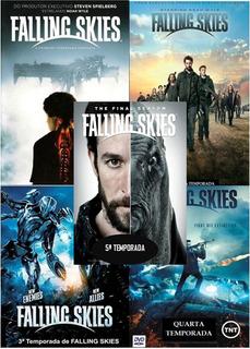 Dvd Falling Skies 4 E 5 Temporada no Mercado Livre Brasil