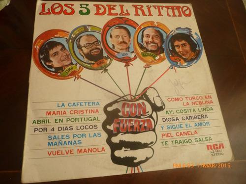 Vinilo Lp De Los 5 Del Ritmo --maria Cristina (u1039