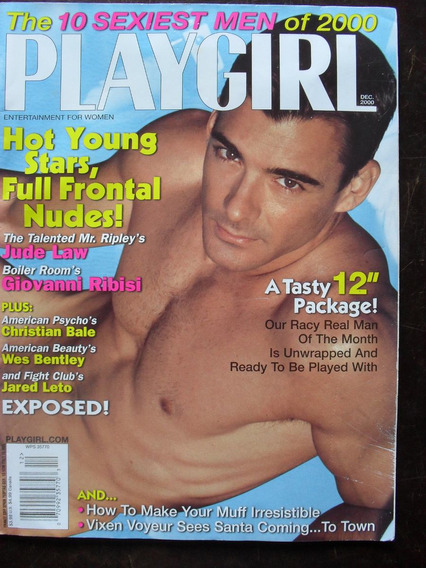 G Magazine Playgirl Magazine - Dez/2000