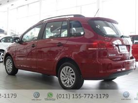 Volkswagen Suran Comfortline 1.6 0km 2017 Rojo