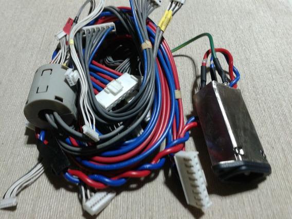 Conj. Cabeamento Da Tv Completa Tv Plasma LG Mod. 42pc1rv