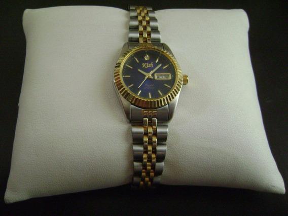 Reloj Kish Quartz Para Dama .... Bonito Y Exacto.