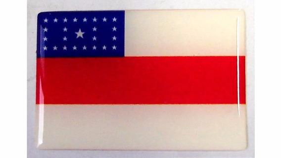 Bandeira Do Estado Do Amazonas Norte Brasil 6x4cm - Sle