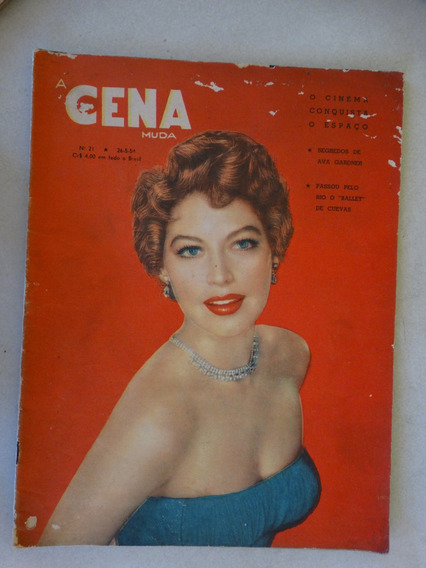 A Cena Muda Nº 21! 26/05/1954! Editora Americana!