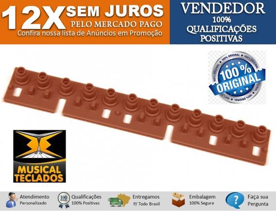 Jogo C/ 5 Mantas De Borrachas Originais P/ Teclado Psr640