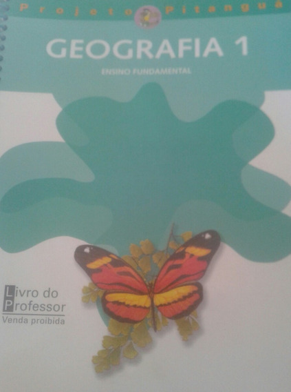 Projeto Pitanguá Geografia 1 Manual Do Professor