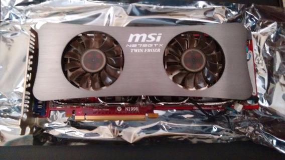 Placa De Video Gtx 275 Msi Oc Twin Frozr Vga Pci Express Def
