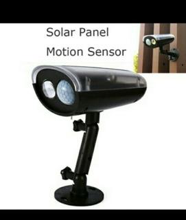 Lampara Solar Con Pir De Movimiento