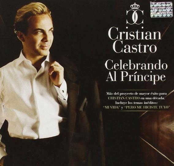 Cristian Castro Celebrando Al Principe Cd New Origi.en Stock
