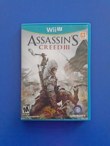 Juego Nintendo Wii U Assassin's Creed Iii Fisico Original