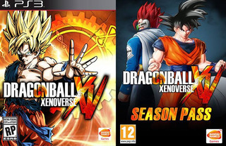 Dragon Ball Xenoverse + Gt Pack 1,2 + Resurrection F Ps3 Gcp