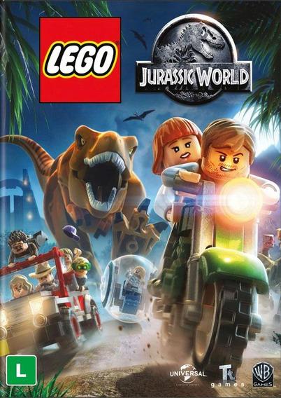 Lego Jurassic World (em Português) - Pc Dvd-rom - Lacrado