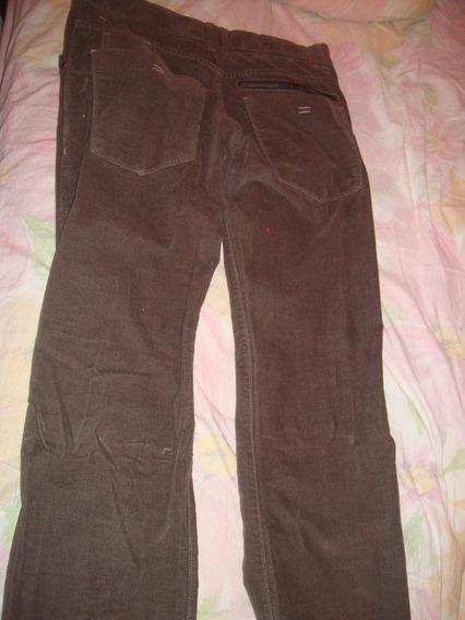 Pantalon Vete Al Diablo Talle 30 Con Botones Nunca Usado