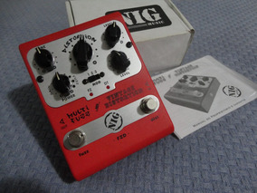 Pedal Nig Fuzz End Vintage Distortion Em Estado De Novo