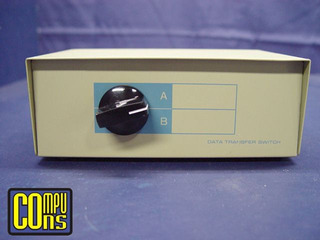 Manual Data Switch 1 Computadora 2 Impresoras Paralelas