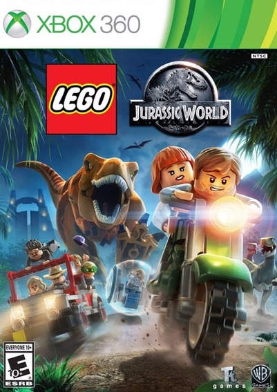 Lego Jurassic World (mídia Física Pt-br) - Xbox 360