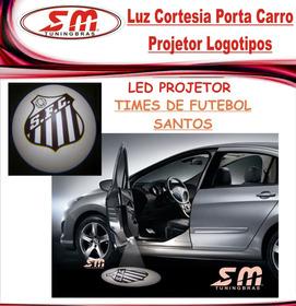 Projetor Porta De Carro Luz Cortesia Time De Santos