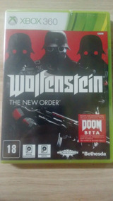 Wolfenstein The New Order Xbox 360 Novo Lacrado Xzg