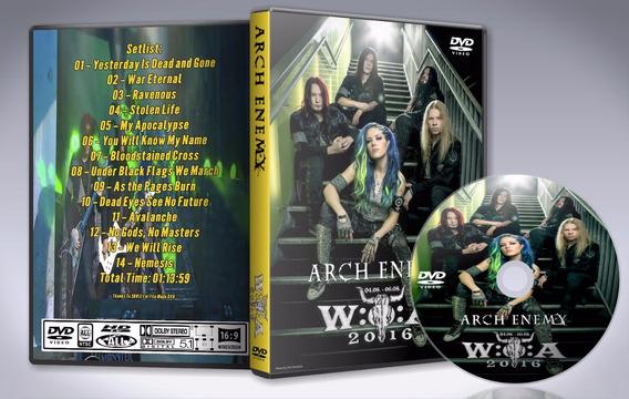 Dvd Arch Enemy - Wacken 2016
