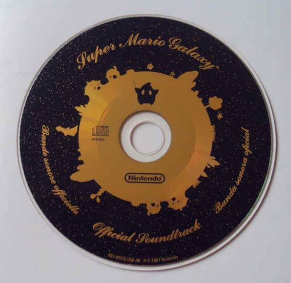 Super Mario Galaxy Official Soundtrack