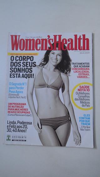 Revista Womens Health Abril/2009 - Usado