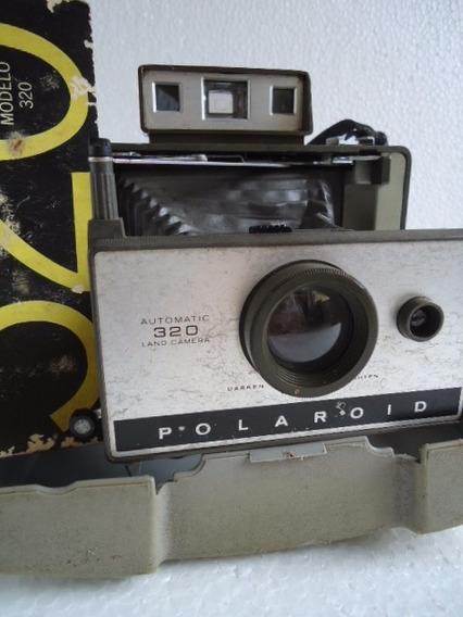 Maquina Fotográficacamera Polaroid 320 Não Existe+filme 1974