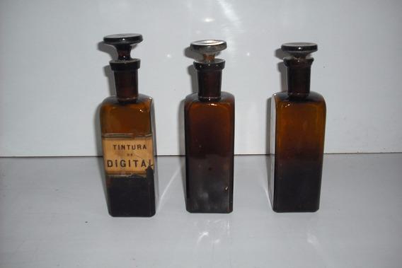 Frascos Antiguos De Farmacia