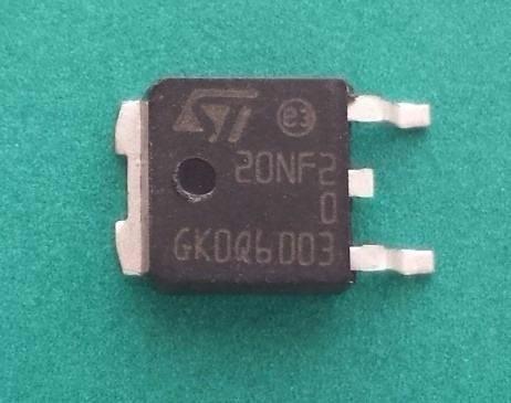 Transistor Mosfet Std20nf20 20nf20 20nf2 Original
