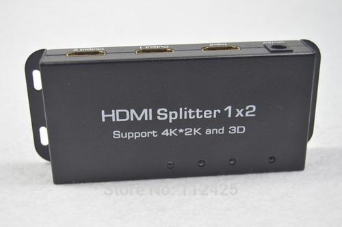 Imagen 1 de 3 de Splitter Hdmi Para Distribuir Imagen Y Sonido 3d 4k