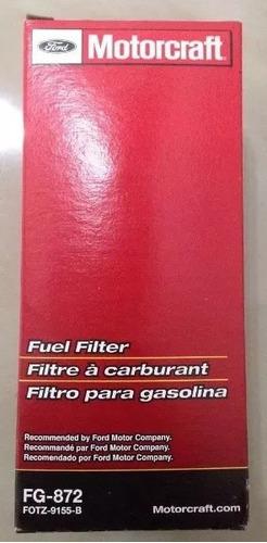 Filtro Gasolina Fg-872 F-350, Fiesta, Ka, Bronco Explorer 99