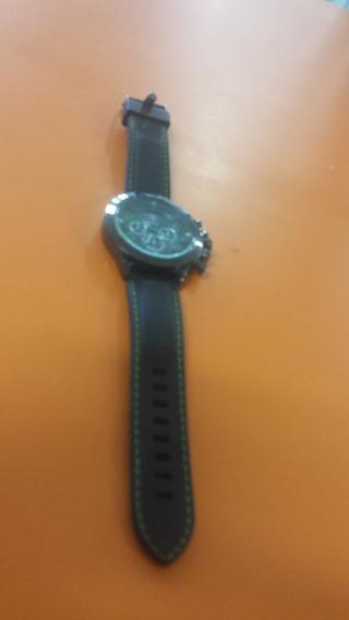 Relógio Ferrari Verde E Preto.