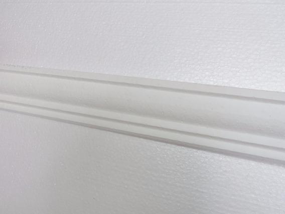 Molduras Isopor Substitui Gesso 10 Metros Barra Com 50cm