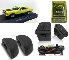 Kit Vidro Eletrico Opala E Fiat 147 C/ Modulo Inteligente