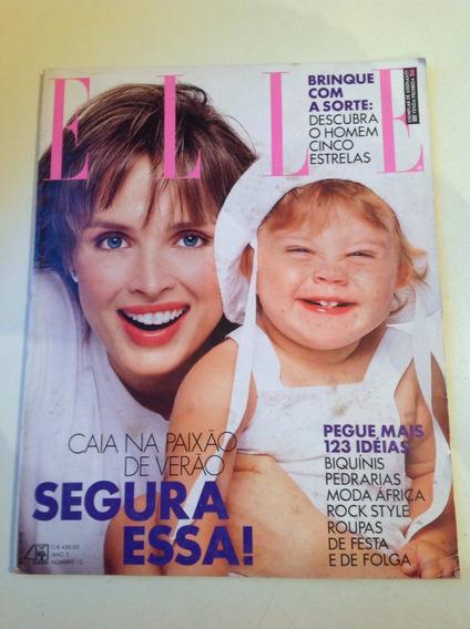 Revista Elle Ano 1990 Vera Fischer Raríssima