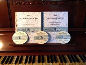 Livros - 200 Ditados Musicais - Livro Do Aluno E Professor