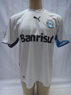 Camisa De Futebol Do Gremio # 7 Banrisul Puma 2006 Away Dt10
