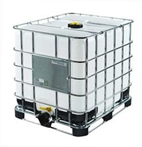 Tanque De Mil Litros Usado Con Refuerzo Metalico Resistente