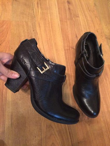 Hermosos Zapatos Tacones Botin Boc Born O Concept Piel Fina!