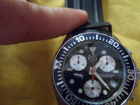Reloj Esq By Movado Cronografo Swiss