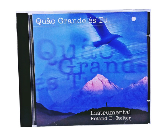 Cd Música Instrumental P/ Relaxar E Meditar Frete Barato! *