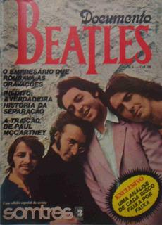 Revista Som Três Beatles Documento