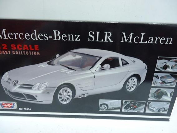 Mercedes Benz Slr Mclaren 1/12 Motor Max Azul Oscuro