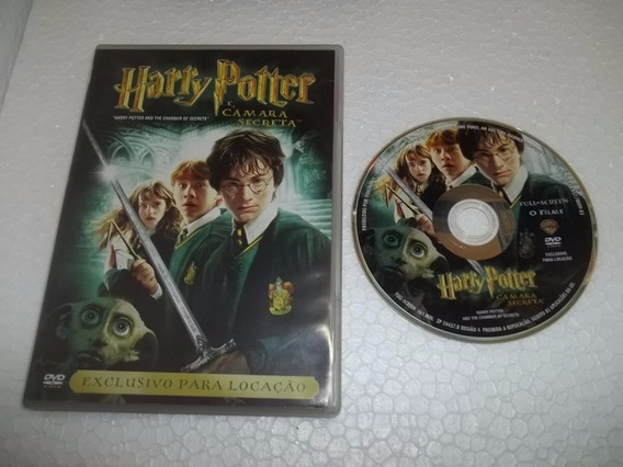 Dvd Harry Potter E A Camara Secreta Infantil