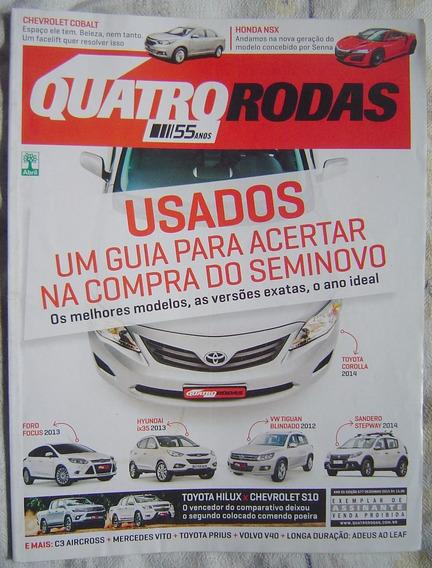 Revista Quatro Rodas - Edição 677 - Compra Do Seminovo.