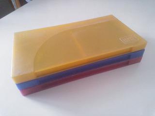 Lote - Cajas Porta Diskettes Fullcolor X 3 Pc Oferta